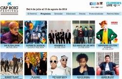 Robert Plant, Bryan Adams, Elton John y Placebo al Cap Roig Festival 2014