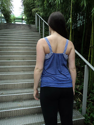 lululemon back on track yoga tank