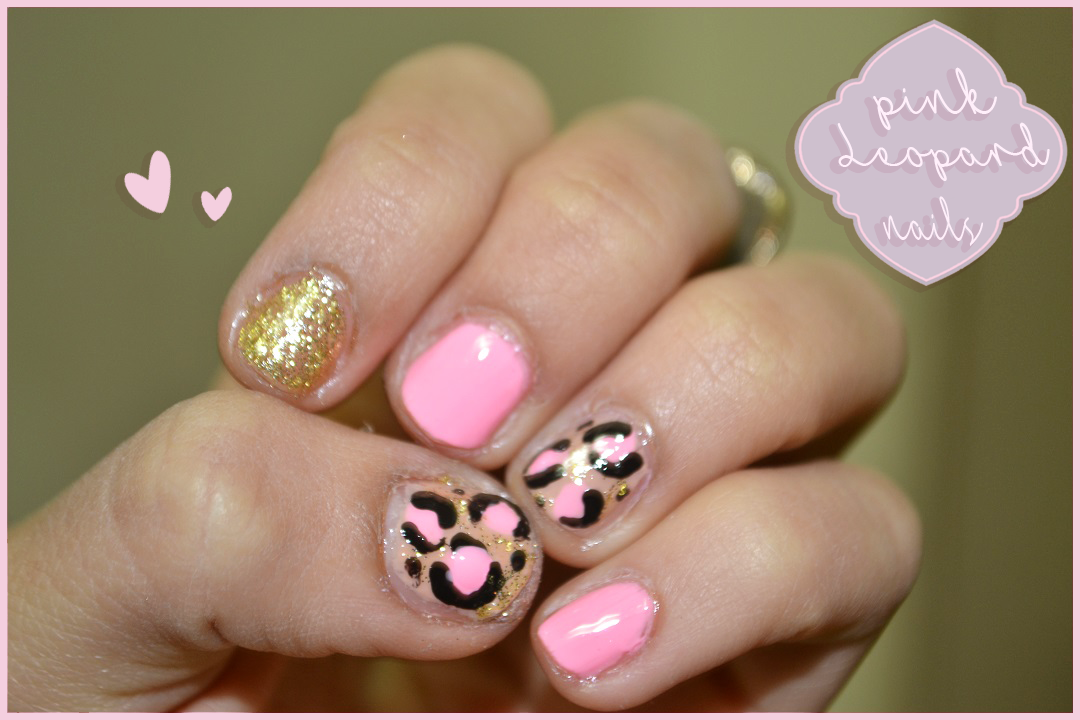 Video Cute And Girly Pink Leopard Nail Art Tutorial Easy Quick
