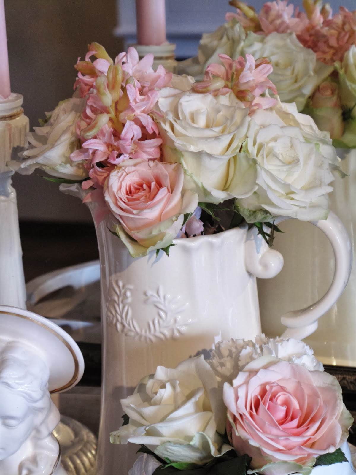 Стиль шебби шик фото цветы