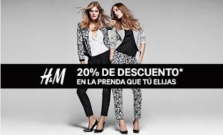 20% DESCUENTO EN HM FEBRERO 2013