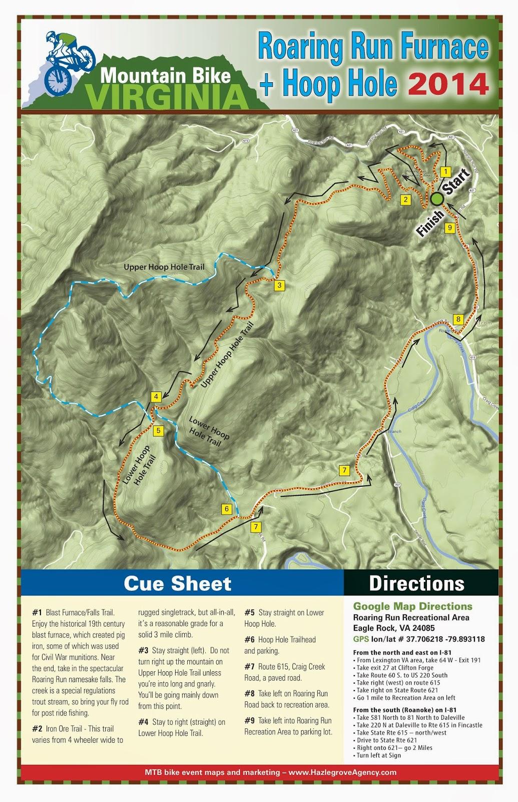 Virginia Endurance Series November - Map us 81