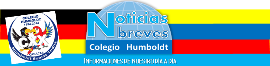 Noticias Breves Colegio Humboldt Caracas