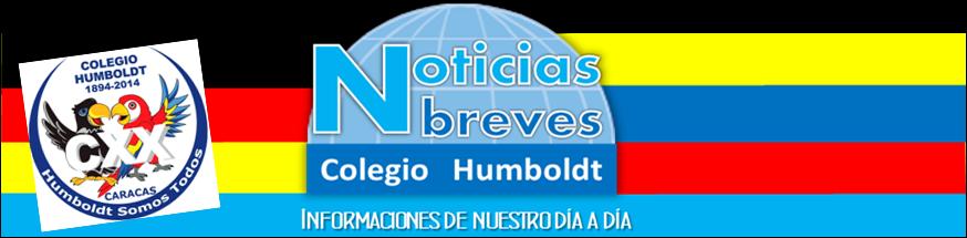 Noticias Breves Colegio Humboldt Caracas