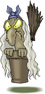 Angry Witch Free Clipart