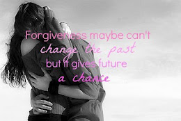 El perdón quizá no pueda cambiar el pasado, pero puede arreglar el futuro.
