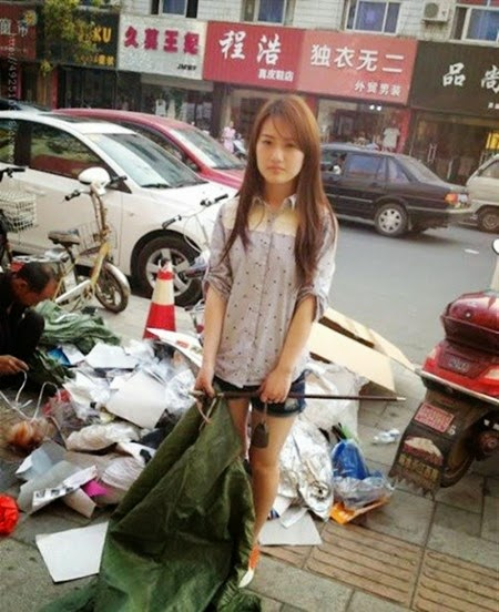 Potret Kehidupan Pemulung Cantik Di Negeri China Blogkitabay