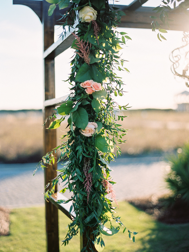 Wedding Trellis Arch Floral