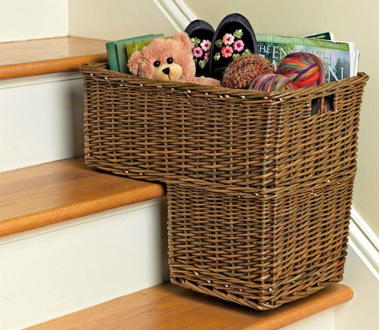 Nice Stair Basket