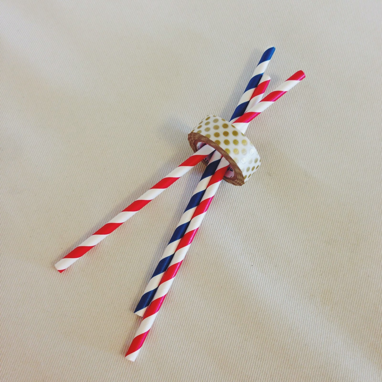 washi tape 4th of july decorations, party, diy