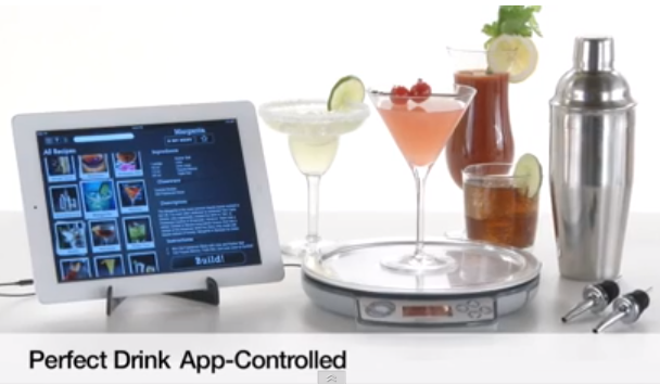 The frager factor perfect drink app turns anyone into for Perfect drink smart scale