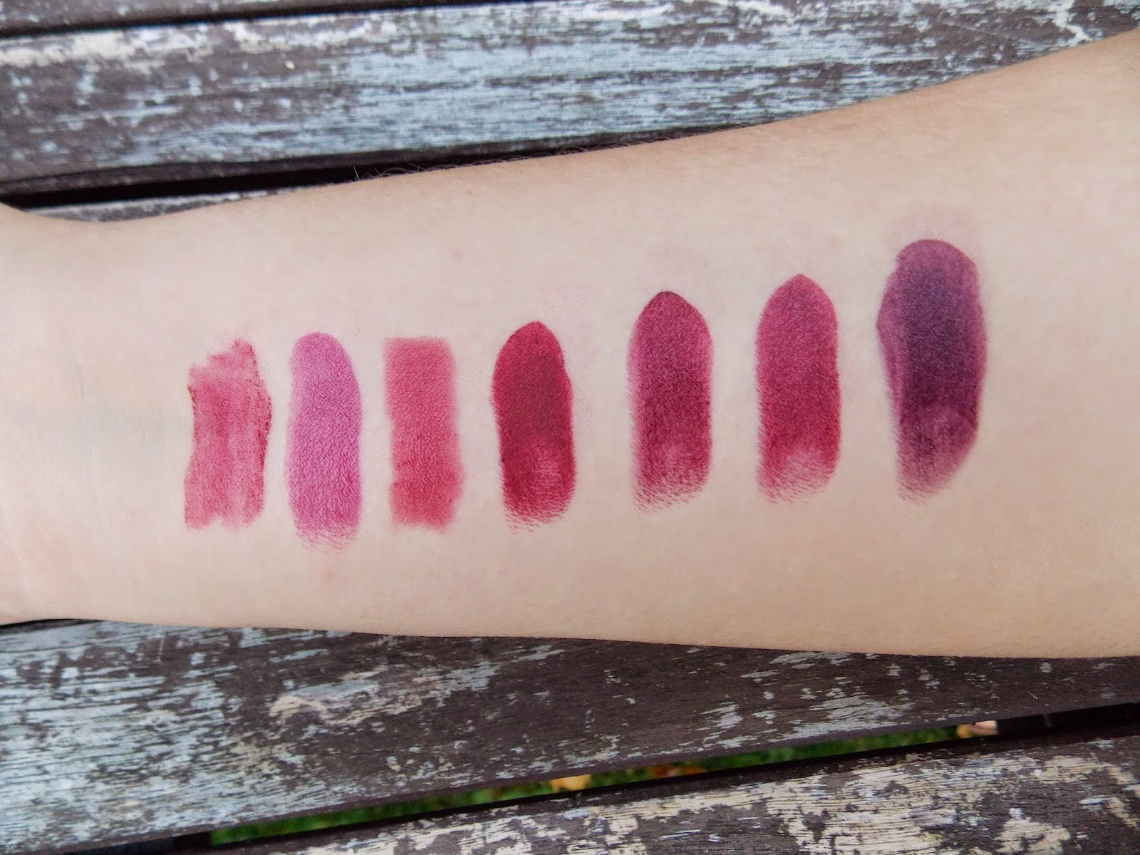 Favourite Autumn Winter Lipsticks & Giveaway