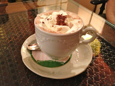 Cafe Koenig hot chocolate
