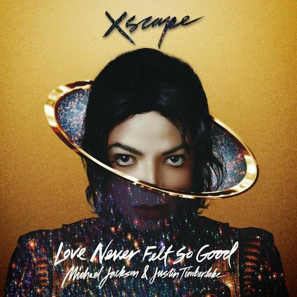 Michael Jackson & Justin Timberlake - Love Never Felt So Good - Single Cover