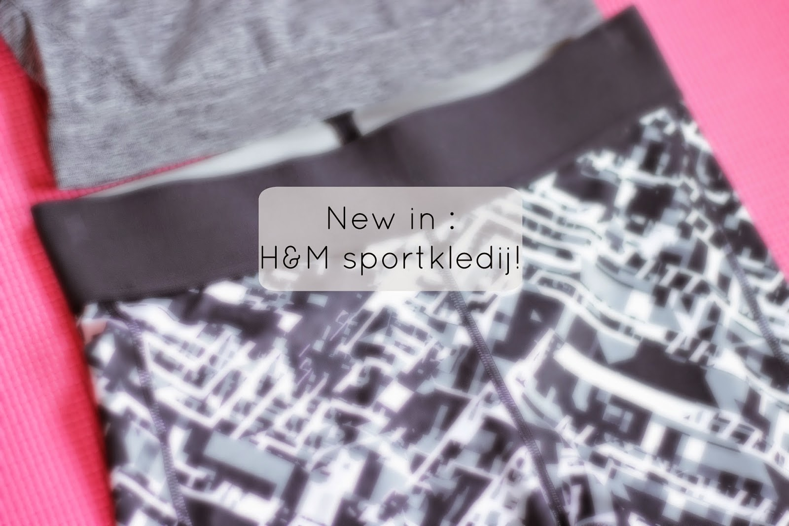 new in h&m sportkleding