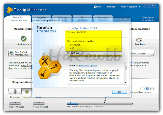 TuneUp Utilities 2013 v13.0.3020.8 Full Version download