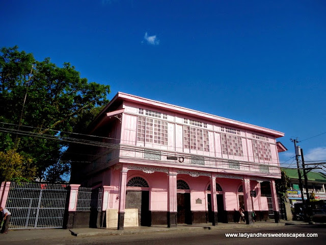 Pink House in Silay City