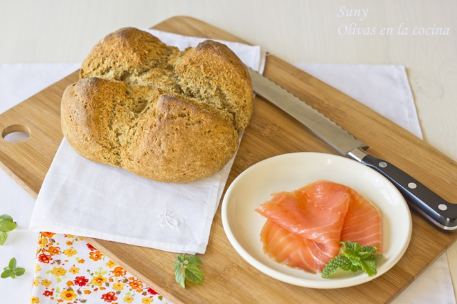 Pan de Soda Irlandés - Irish Soda Bread