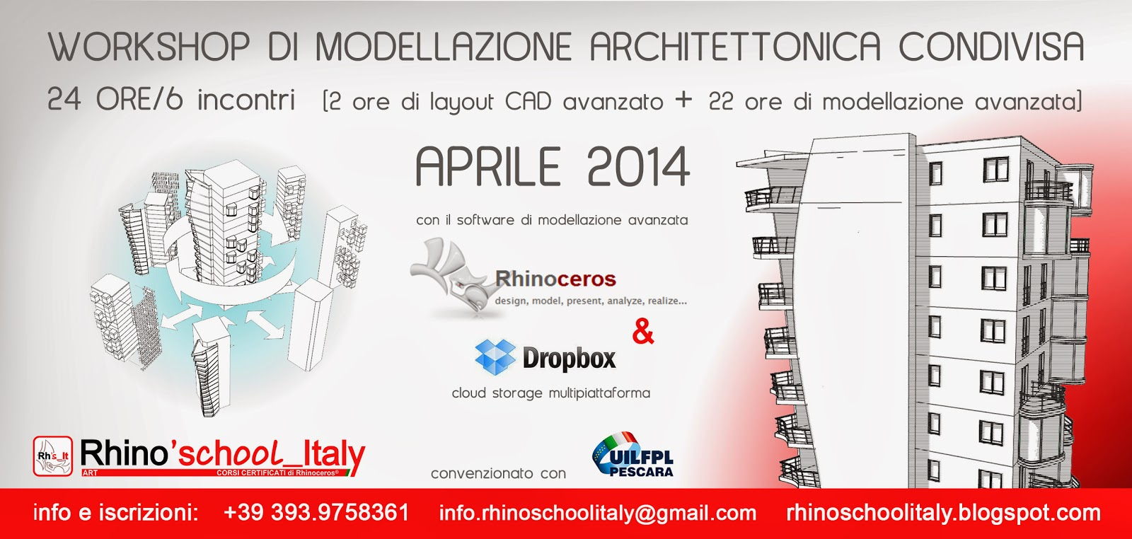 rhino 39 school italy marzo 2014. Black Bedroom Furniture Sets. Home Design Ideas