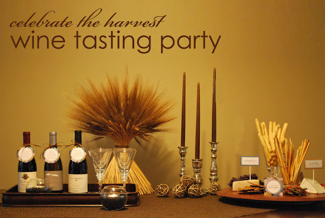 fall theme celebrate the harvest wine party