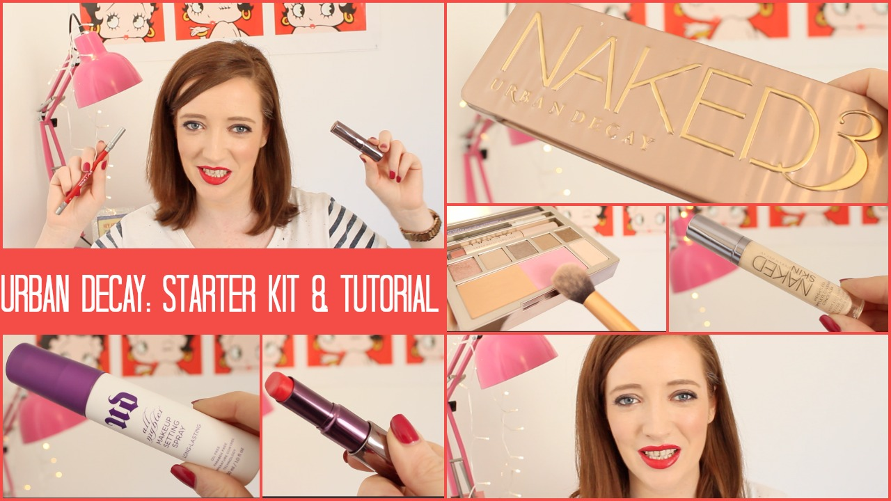 Urban Decay Starter Kit & Tutorial