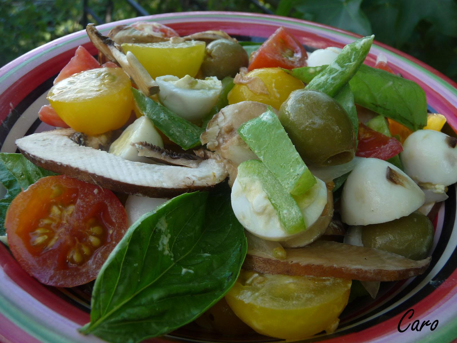 Caro pimiento navidad comidas coloridas y frescas for Comidas frescas