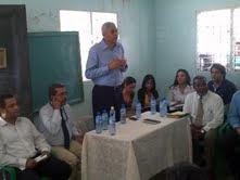 Diputado Guillén encabeza reunión con técnicos y comunitarias  para la ejecución de proyectos ordenados por el presidente Medina en Semana Santa
