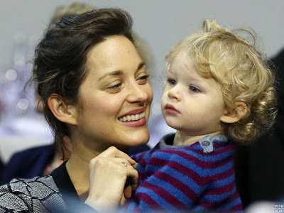 Marcel Baby boy hollywood actress Marion Cotillard
