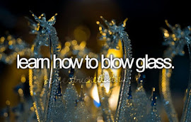 i want to learn how to blow glass
