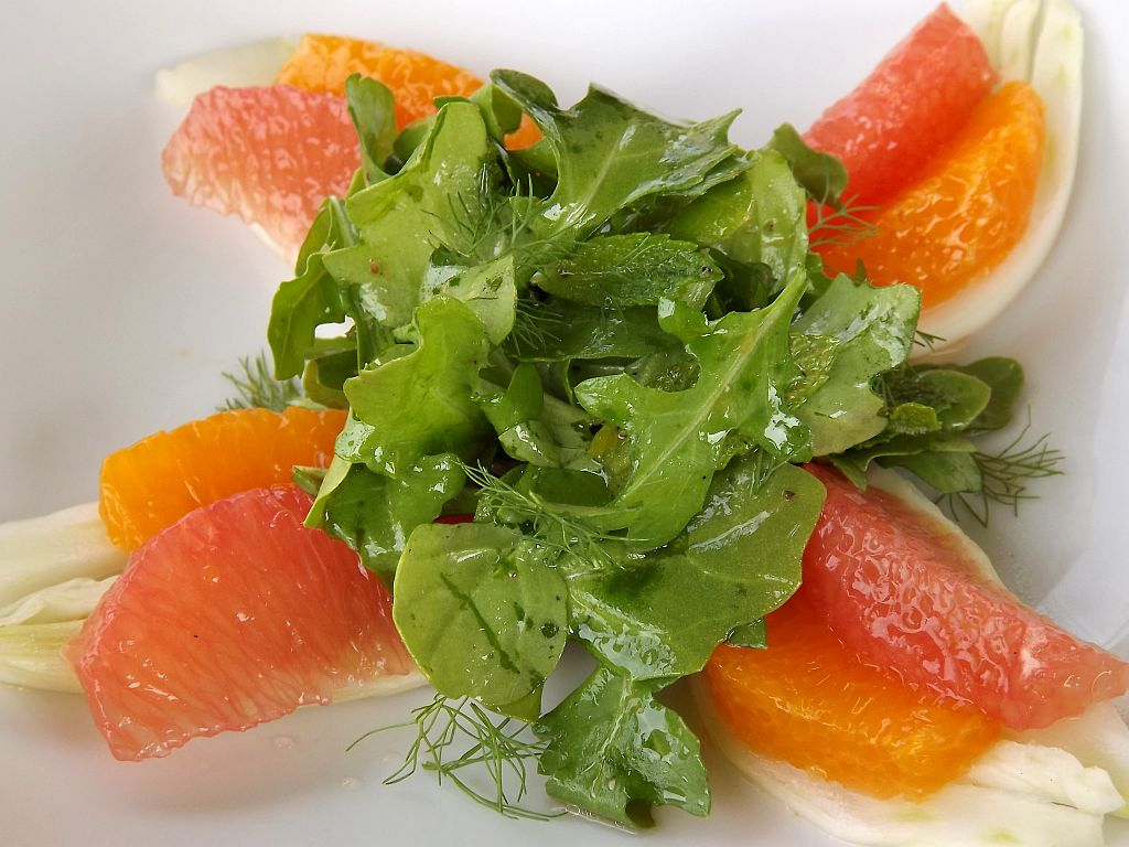 Culinary Cache: Foodbuzz 24x24: A Spring Fare Lunch