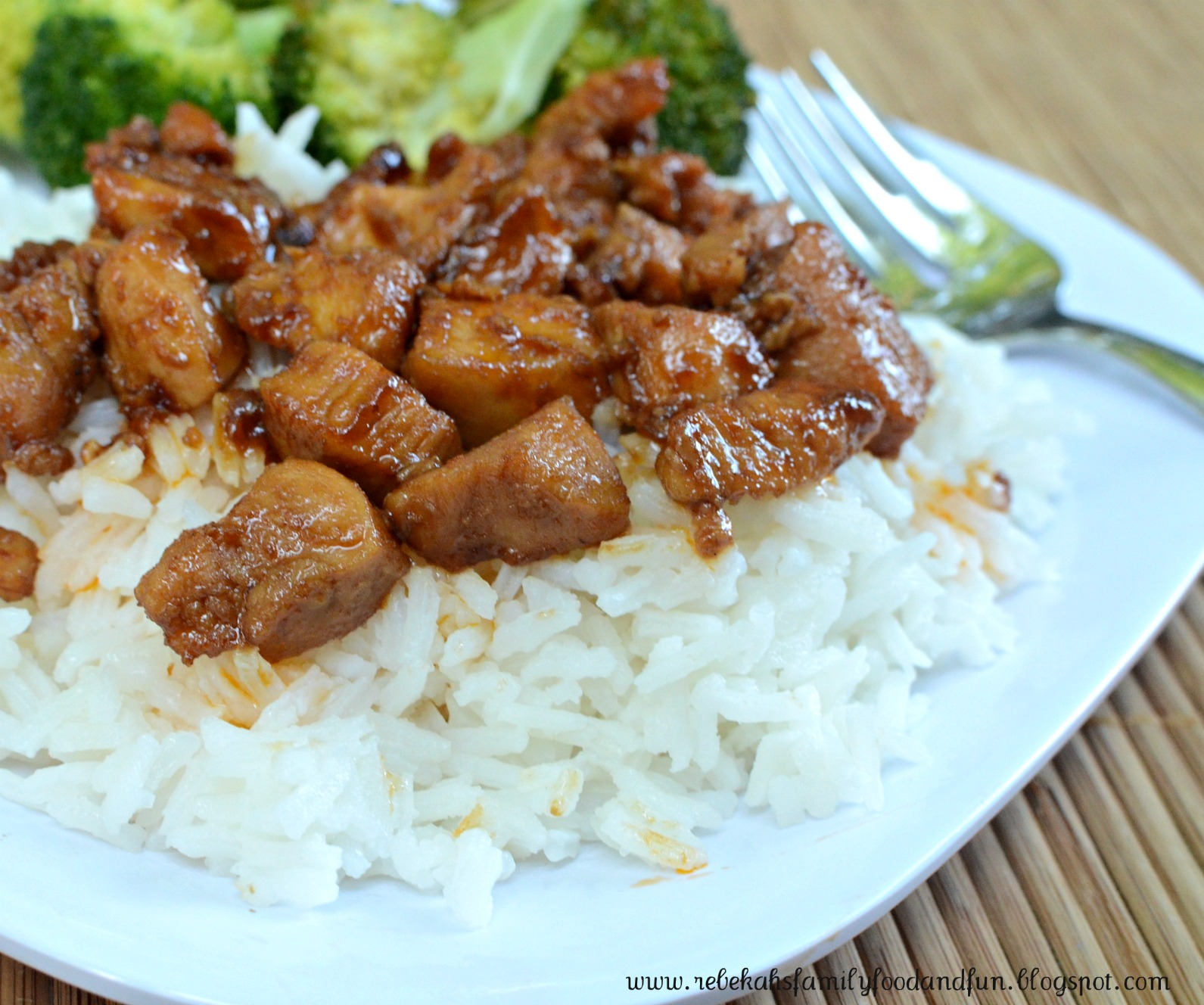 Family, Food, and Fun: Bourbon Chicken
