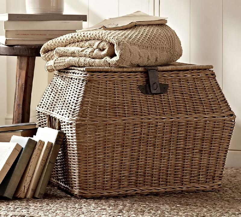 Friday Finds Lidded Storage Baskets & whimsy girl: Friday Finds: Lidded Storage Baskets