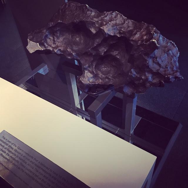 Gideon Meteorite London Planetarium