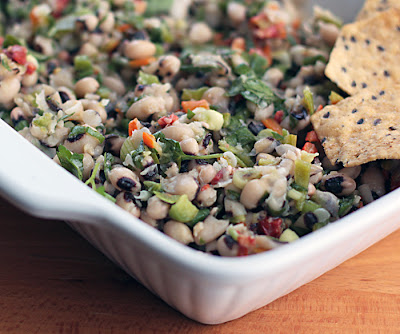 Happy New Year (eat a little Texas caviar for good luck)