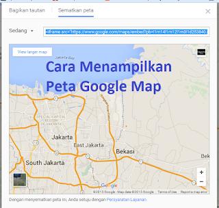 [New] Cara Menampilkan Peta Google Map Di Postingan Dan Widget Blog