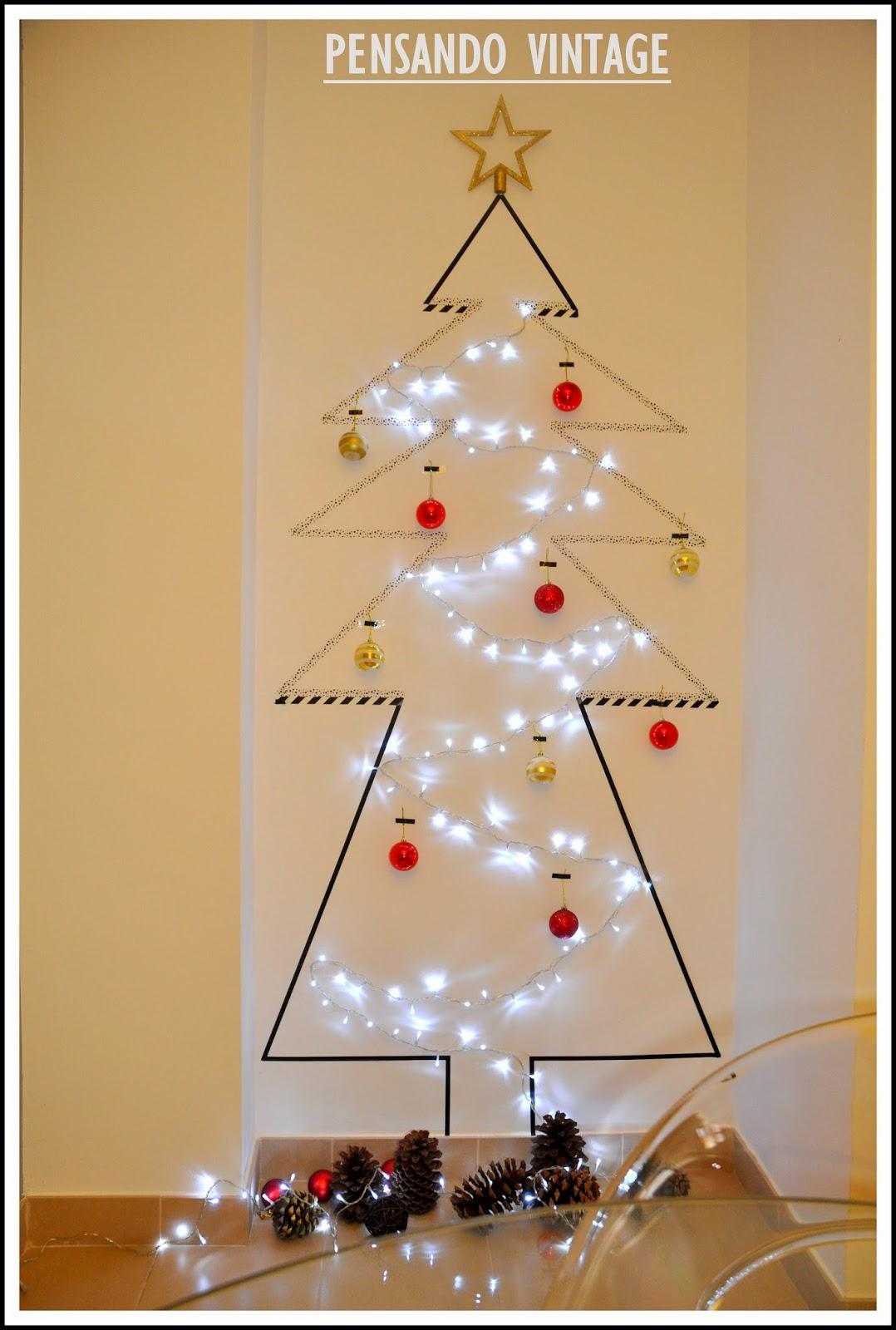 Pensando vintage mi rbol de navidad bonito barato y - Arbol navidad barato ...