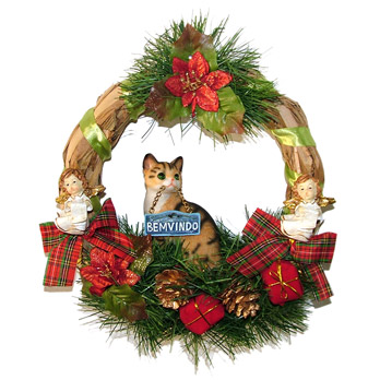 Guirlanda de Natal!