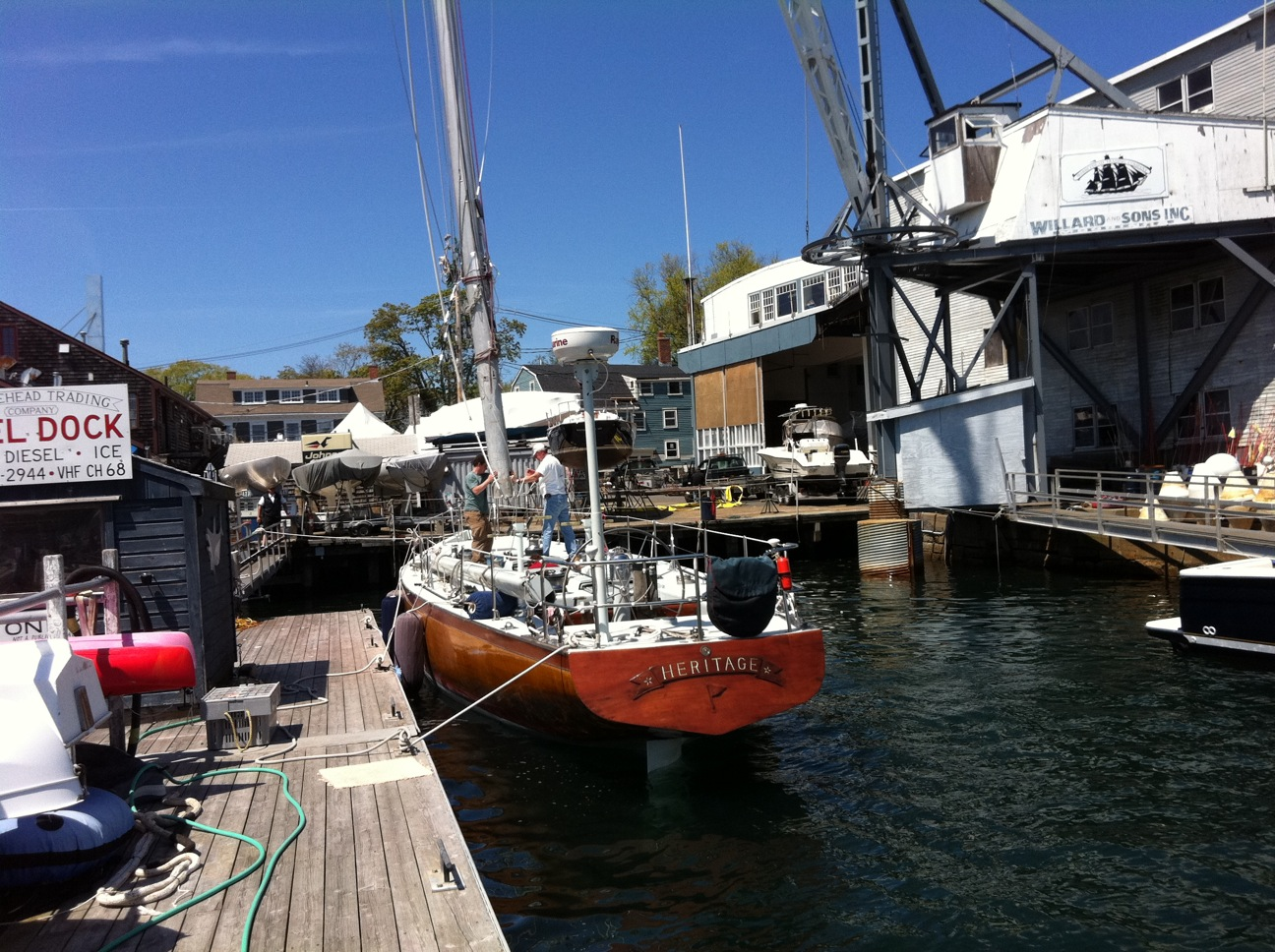 Big Rig Summer : Meter charters sailing in newport ri now that is a