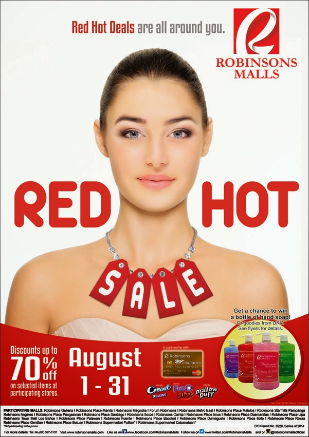 Robinsons Malls Red Hot Sale