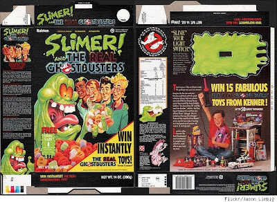 Ghostbusters Cereal – Brainwashing Kids One Bowl at a Time!