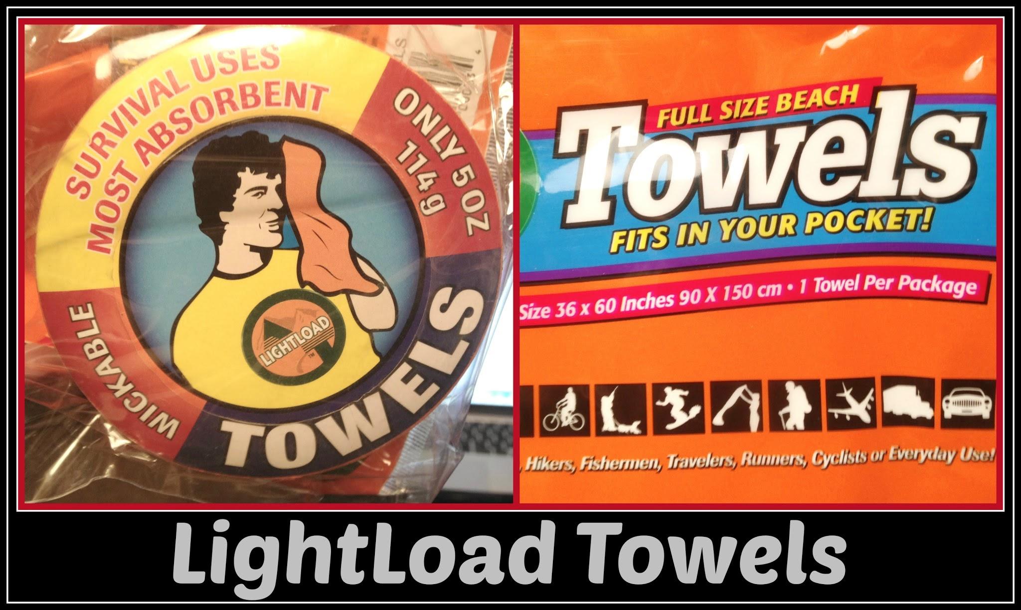 Enter the LightLoad Towel Giveaway. Ends 4/8.