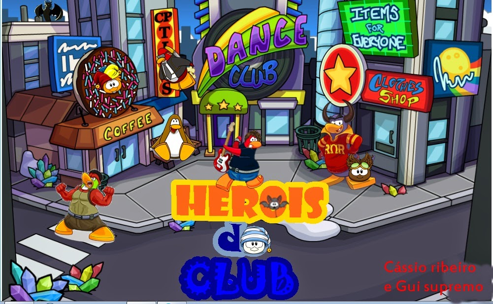 Herois do Club Penguin