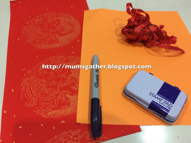 Chinese New Year Craft For Kids Materials