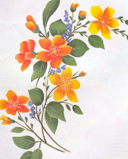 Flores Para Pintar En Tela Despu S Te Subo Algunas Mas Para Que