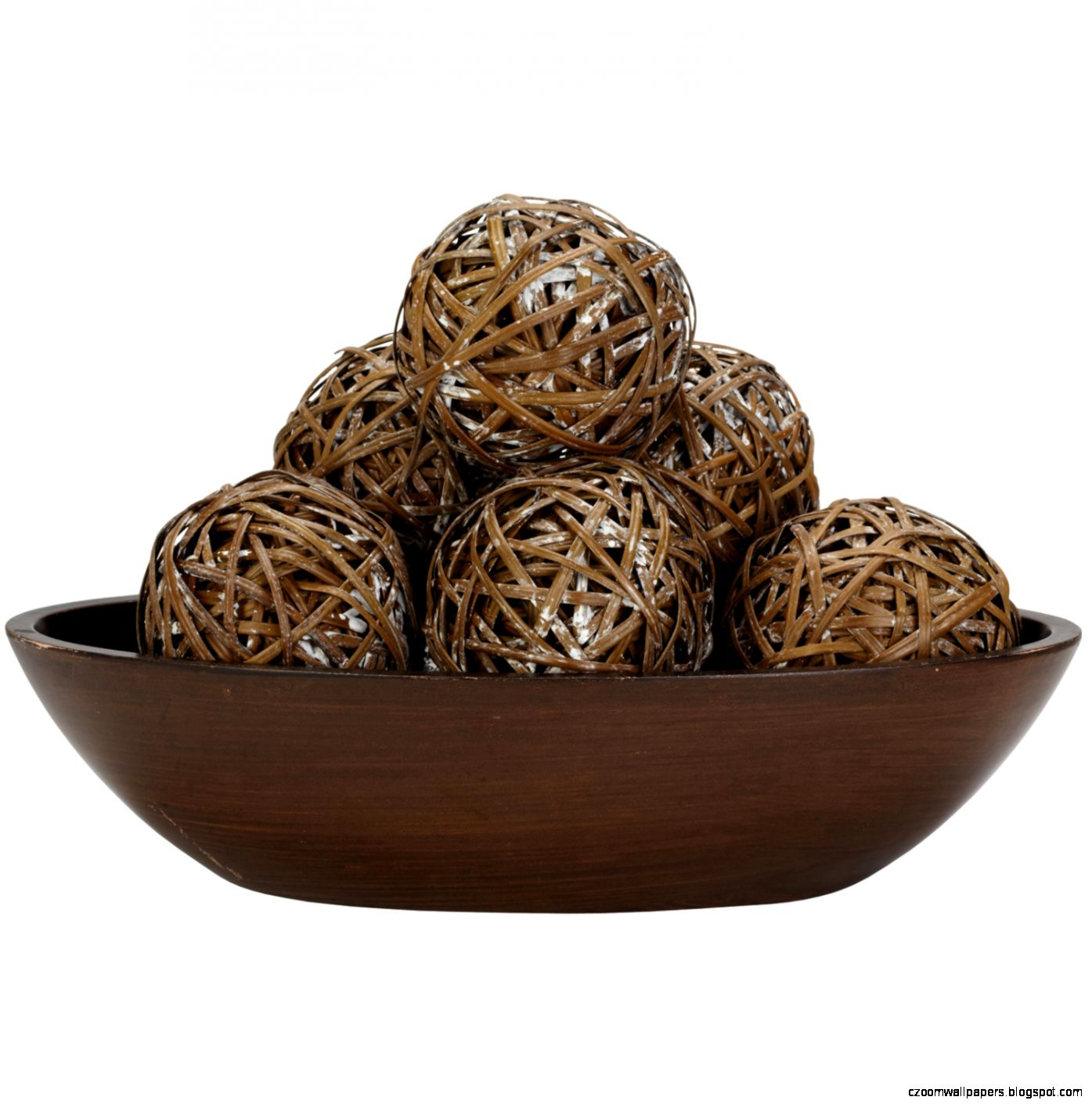 Brown Decorative Balls