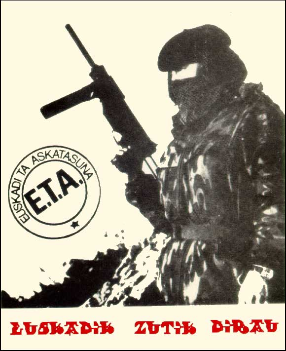the terrorist turn adopted by eta Andrew majoran is currently a global terrorism analyst for an international risk management firm in london, uk before assuming his current role, andrew was the general manager of the mackenzie institute, where he currently sits on the board of governors.