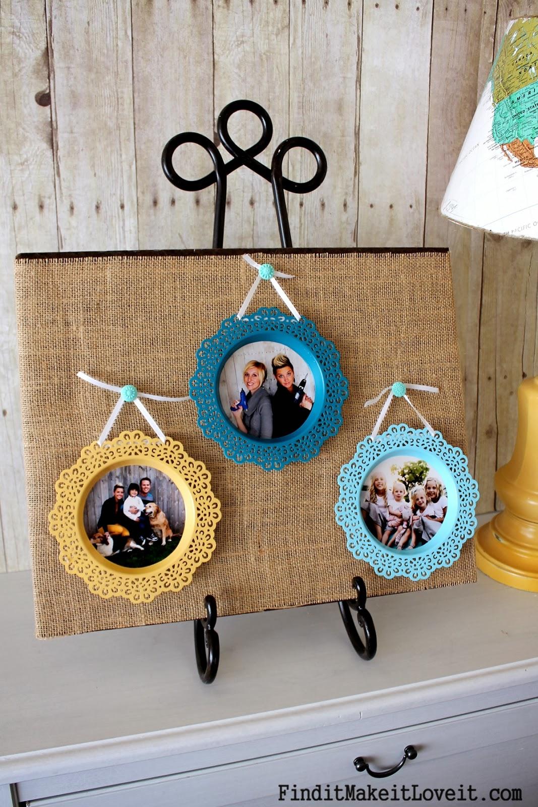 ikea candle dish turned picture frame find it make it. Black Bedroom Furniture Sets. Home Design Ideas