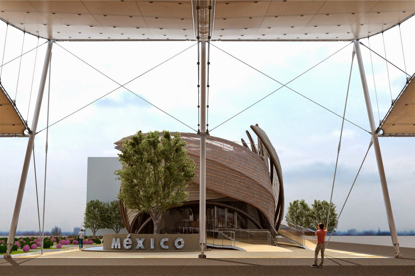 Expo 2015 milano blog pavilion of mexico concept and for Pavilion concept architecture