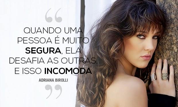 Adriana Birolli, julho de 2014 - Ed. 2028