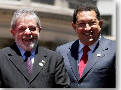 Nostradamus, profecia sobre Lula, Lula e Chavez